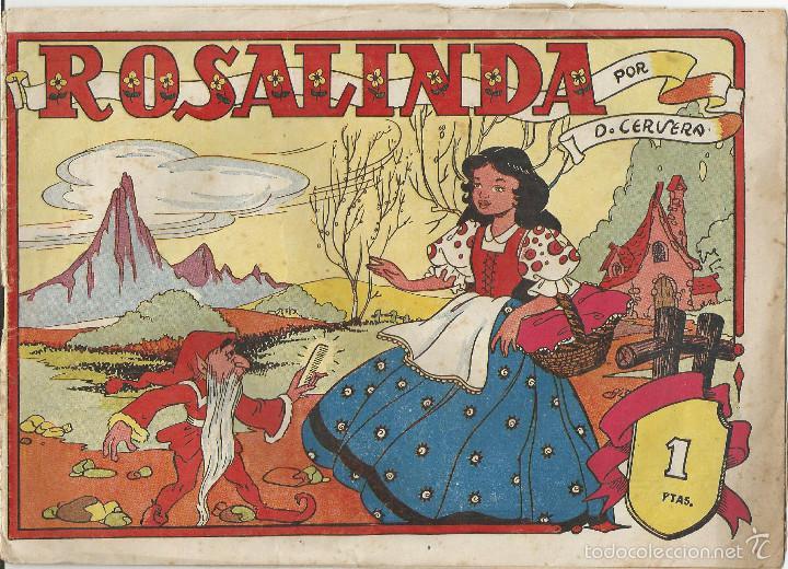 ROSALINDA EDITORIAL SÍMBOLO (Tebeos y Comics - Tebeos Otras Editoriales Clásicas)