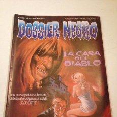 Tebeos: DOSSIER NEGRO Nº 166. LA CASA DEL DIABLO. EDICIONES GYESA / GIESA 1983. Lote 58815511