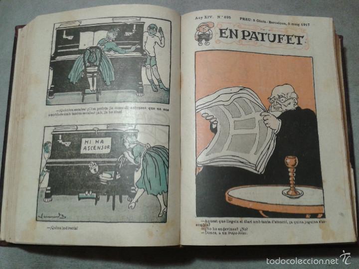 EN PATUFET, 1917. AÑO COMPLETO, ENCUADERNADO (Tebeos y Comics - Tebeos Clásicos (Hasta 1.939))