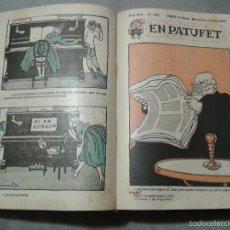 Tebeos: EN PATUFET, 1917. AÑO COMPLETO, ENCUADERNADO. Lote 58895136