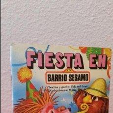 Tebeos: TEBEO COMIC ESPINETE GRAN FIESTA 23 JULIO EN EL BARRIO SESAMO PARRAMON 1985. Lote 59541155
