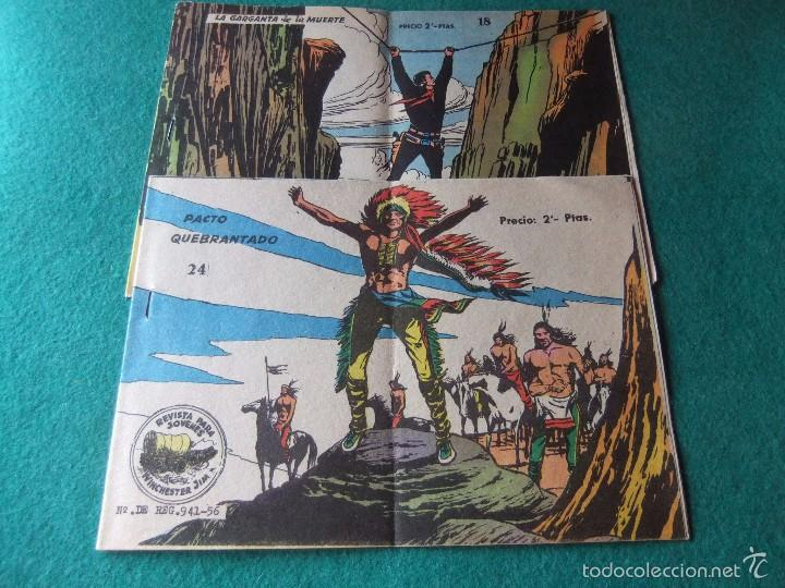 WINCHESTER JIM LOTE DE 2 NUMEROS (Tebeos y Comics - Tebeos Otras Editoriales Clásicas)