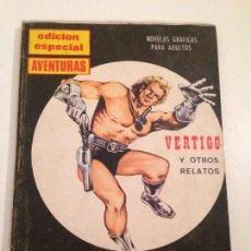 Tebeos: AVENTURAS EDICION ESPECIAL Nº 10. VERTIGO Y OTROS RELATOS. PRESIDENTE 1970.. Lote 60648579