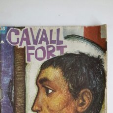 Tebeos: CAVALL FORT. NUM 65. LLUCIÀ NAVARRO. PUBLI FARISTOL. CORAL L'ESQUITX. ZOO D'EN PITUS. ALPINA. TINTIN. Lote 61418571