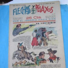 Tebeos: FLECHAS Y PELAYOS , N.45, OCTUBRE 1939, DETRAS MAPA REGION MURCIA Y ALBACETE, ESTA COMO NUEVO. Lote 61469219