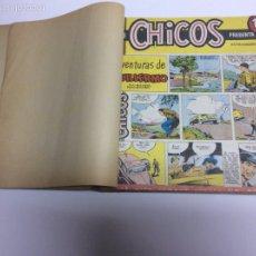 Tebeos: REVISTA CHICOS TOMO RECOPILATORIO CO 29 TEBEOS -ED. EDICIONES CID AÑOS 50. Lote 61500098
