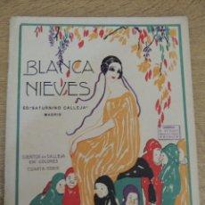 Tebeos: BLANCANIEVES EDIT. S. CALLEJA 1919. Lote 62413032