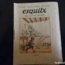 Tebeos: EN CATALAN ESQUITX. SUPLEMENT D'EN PATUFET TEBEO COMIC AÑOS 30 - NUMERO 73 A. Lote 62977924