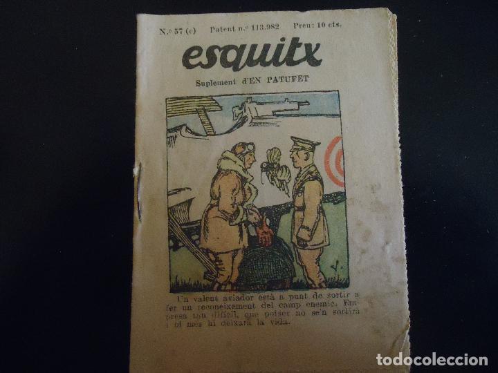 EN CATALAN ESQUITX. SUPLEMENT D'EN PATUFET TEBEO COMIC AÑOS 30 - NUMERO 57 C (Tebeos y Comics - Tebeos Clásicos (Hasta 1.939))