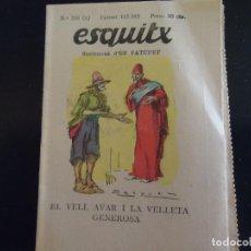 Tebeos: EN CATALAN ESQUITX. SUPLEMENT D'EN PATUFET TEBEO COMIC AÑOS 30 - NUMERO 246 A. Lote 62986952