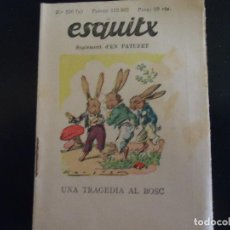 Tebeos: EN CATALAN ESQUITX. SUPLEMENT D'EN PATUFET TEBEO COMIC AÑOS 30 - NUMERO 250 A. Lote 62987136