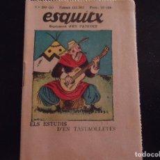 Tebeos: EN CATALAN ESQUITX. SUPLEMENT D'EN PATUFET TEBEO COMIC AÑOS 30 - NUMERO 233 B. Lote 62988436