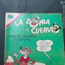 Tebeos: LA ZORRA Y EL CUERVO. Lote 63129211