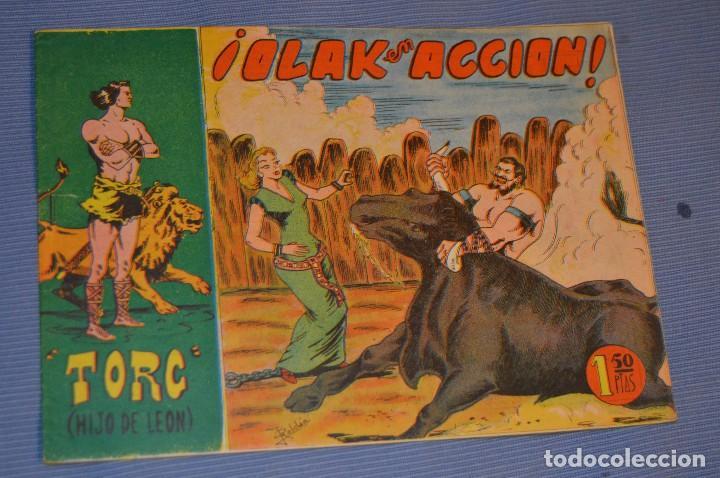 TORG (HIJO DE LEÓN) - EDITORIAL ANDALUZA - NÚM. 25 - ORIGINAL AÑOS 60 - MUY BUEN ESTADO (Tebeos y Comics - Tebeos Otras Editoriales Clásicas)