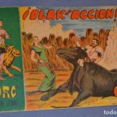 Tebeos: TORG (HIJO DE LEÓN) - EDITORIAL ANDALUZA - NÚM. 25 - ORIGINAL AÑOS 60 - MUY BUEN ESTADO. Lote 63143644