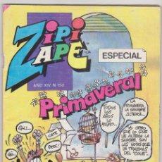 Livros de Banda Desenhada: ZIPI Y ZAPE ESPECIAL Nº 150. PRIMAVERAL. 1ª EDICIÓN BRUGUERA 1985.. Lote 63486824