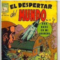 Tebeos: EL DESPERTAR DEL MUNDO N° 72 LA PRENSA MEXICAN COMICS. Lote 63550056
