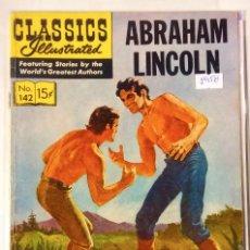 Tebeos: CLASICOS ILUSTRADOS N° 142 - 1958 LA PRENSA MEXICAN COMICS. Lote 63550688