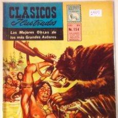 Tebeos: CLASICOS ILUSTRADOS N° 154 1969 LA PRENSA MEXICAN COMICS. Lote 63550888