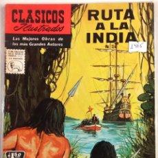 Tebeos: CLASICOS ILUSTRADOS N° 134 1965 LA PRENSA MEXICAN COMICS. Lote 63551064