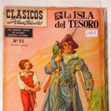 Tebeos: CLASICOS ILUSTRADOS N° 55 1963 LA PRENSA MEXICAN COMICS. Lote 63647975