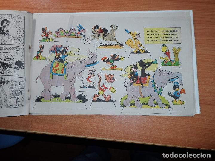 Tebeos: AVENTURAS DE PIKIS EN EL PAIS DE BURRILANDIA - EDICIONES AUGUSTA 1945 CON RECORTABLES TAPA DURA - Foto 3 - 63669787