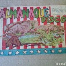 Tebeos: DISCO ,ALMANAQUE 1954 SIMBOLO -ORIGINAL ,AR.. Lote 63679355