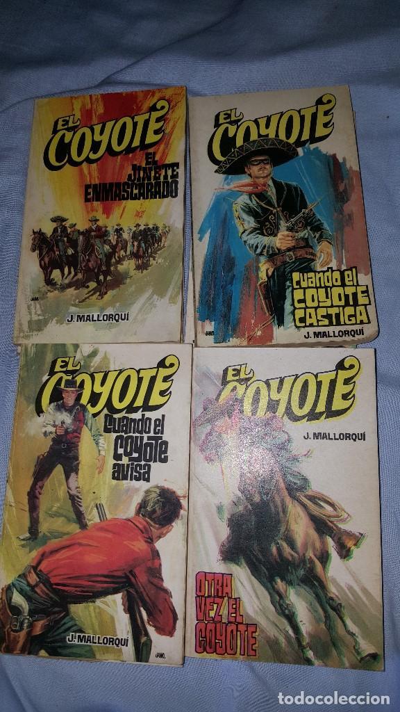 Tebeos: EL COYOTE LOTE DE 8 NUMEROS -- ED. FAVENCIA - 1973 - Foto 2 - 64168375