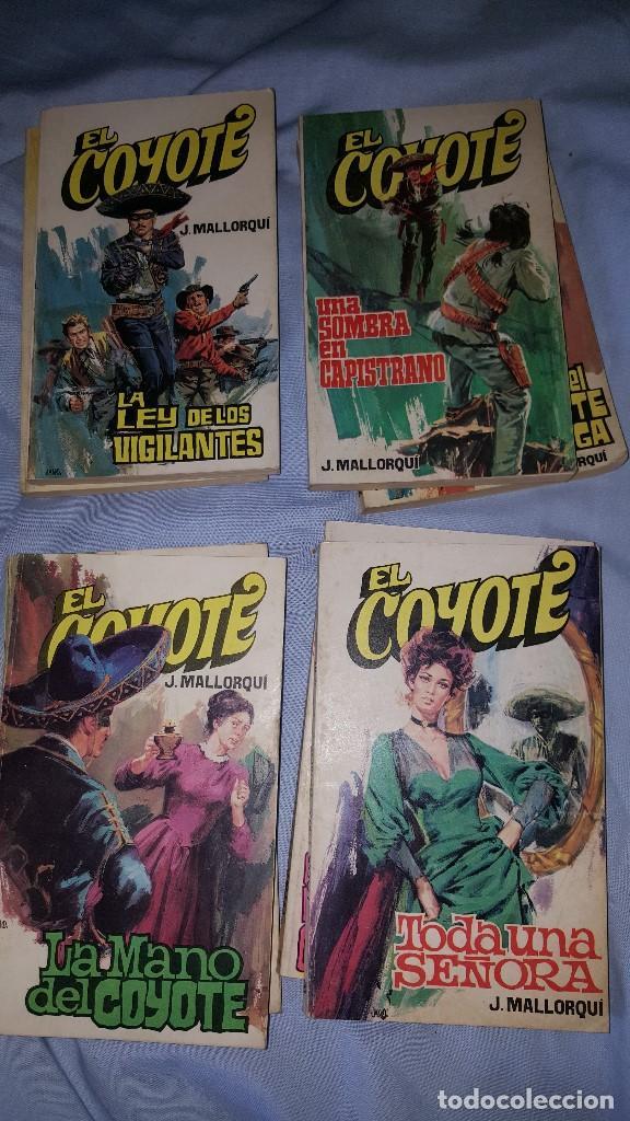 Tebeos: EL COYOTE LOTE DE 8 NUMEROS -- ED. FAVENCIA - 1973 - Foto 4 - 64168375
