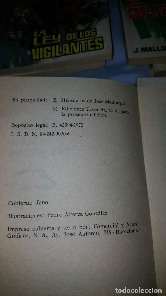 Tebeos: EL COYOTE LOTE DE 8 NUMEROS -- ED. FAVENCIA - 1973 - Foto 5 - 64168375