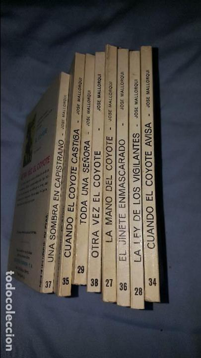 EL COYOTE LOTE DE 8 NUMEROS -- ED. FAVENCIA - 1973 (Tebeos y Comics - Tebeos Otras Editoriales Clásicas)