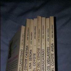 Tebeos: EL COYOTE LOTE DE 8 NUMEROS -- ED. FAVENCIA - 1973. Lote 64168375
