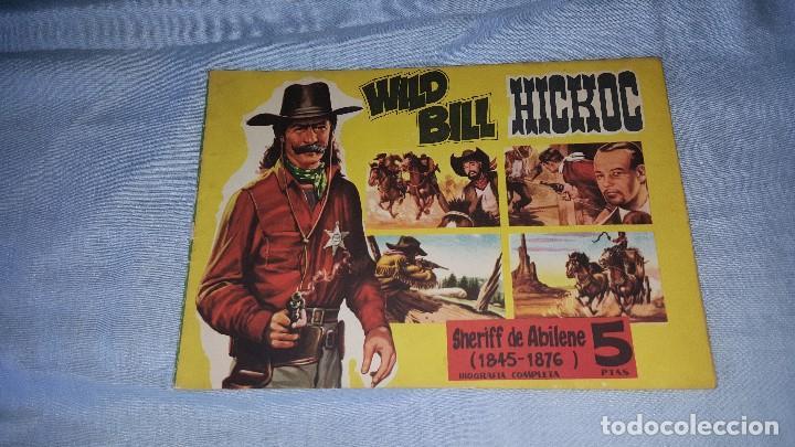 CUADERNOS LEJANO OESTE - WILD BILL HICKOC -- Nº 5 (Tebeos y Comics - Tebeos Otras Editoriales Clásicas)