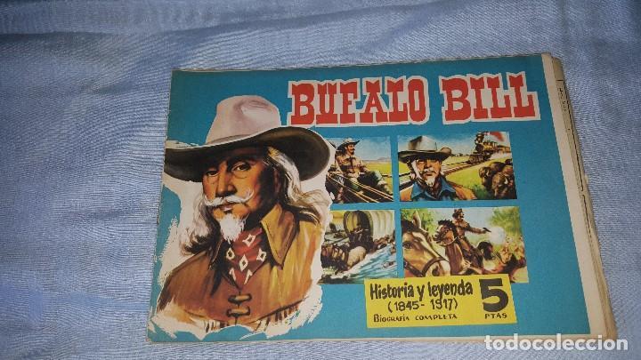 CUADERNOS LEJANO OESTE - BUFALO BILL -- Nº 6 (Tebeos y Comics - Tebeos Otras Editoriales Clásicas)