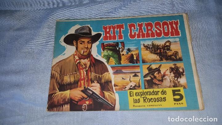 CUADERNOS LEJANO OESTE - KIT CARSON -- Nº 7 (Tebeos y Comics - Tebeos Otras Editoriales Clásicas)