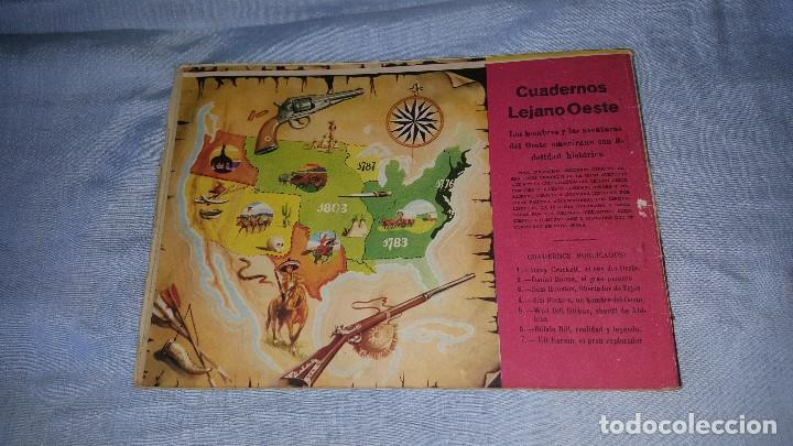 Tebeos: CUADERNOS LEJANO OESTE - KIT CARSON -- Nº 7 - Foto 2 - 64171119