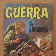 Tebeos: GUERRA. EL SARGENTO. Nº 29. EDITORIAL VILMAR. AÑO 1978.. Lote 64171491
