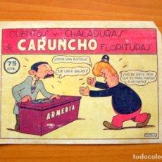 Tebeos: CUENTOS Y CHALADURAS DE CARUNCHO FLORITURAS - EDICIONES LERSO 1947. Lote 64575827