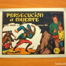 Tebeos: JORGE BAZÁN Y EL PEQUEÑO ALI, Nº 2 PERSECUCIÓN A MUERTE - EDICIONES REALCE 1948. Lote 64588575