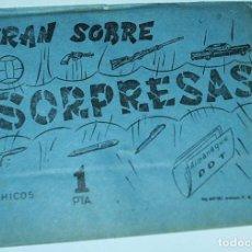 Tebeos: SOBRE SORPRESA GRAN SOBRE SORPRESAS - SIN ABRIR PERFECTO 1967, CON TEBEO ??HE ABIERTO UNO Y SÍ TIENE. Lote 65739346