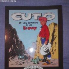 Tebeos: CUTO EN LOS DOMINIOS DE LOS SIOUX. CLUB AMIGOS DE LA HISTORIETA. Lote 66991971