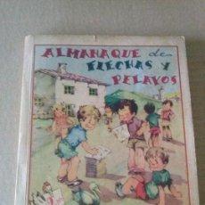 Tebeos: ALMANAQUE 1942 - FLECHAS Y PELAYOS - ,FET Y JONS- ORIGINAL - 128 PAG.. Lote 67320817