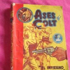 Tebeos: ASES DEL COLT N 4 EL INFIERNO ESTA EN WICHITA FIDEL PRADO PRIMERA EDICION RARA CIES.. Lote 68632577