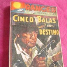 Tebeos: RANGER POLICIA DEL FAR WEST N 48 EDITORIAL DOLAR PRIMERA EDICION . Lote 68636341