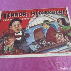Tebeos: DIAMANTE NEGRO 28 TERROR A MEDIA NOCHE RIALTO CUENTOS DE TERROR. Lote 68753993
