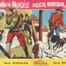 Tebeos: LA HORA FELIZ SERIE DISCOLOR - 2 TEBEOS - MUY BUEN ESTADO - 1965 - BEYLOC DIBUJOS. Lote 68788525
