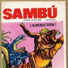 Tebeos: SAMBÚ Nº 4 ¡AMBICIÓN! ED. VILMAR . Lote 69271045