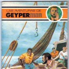 Tebeos: LA SAVENTURAS DE GEYPERMAN Nº 3 A COLOR - EDICIONES RECREATIVAS 1978. Lote 70411025