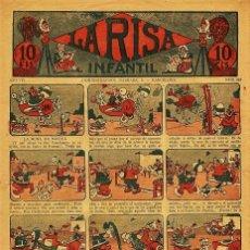 Tebeos: LA RISA INFANTIL Nº 343 (AÑO VII, MARCO, 1931). Lote 71505107