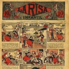 Tebeos: LA RISA INFANTIL Nº 450 (AÑO IX, MARCO, 1933). Lote 71505287